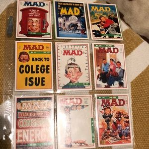 Other - Lots if old school MAD cards